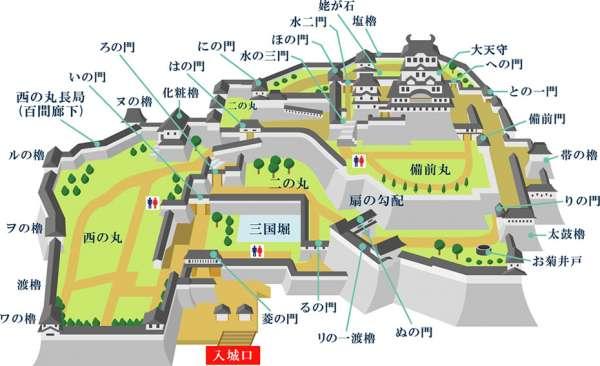 himejijyo-map