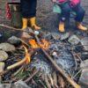 「焚き火カフェ」chattana チャッタナの森 多可町余暇村公園 多可町