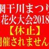 【衝撃速報】【網干川まつり花火大会2018休止】開催されない!来年以降の予定も未定。